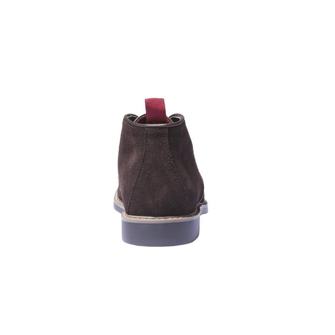 Kotníčková obuv ve stylu Chukka bata, hnědá, 893-4245 - 17