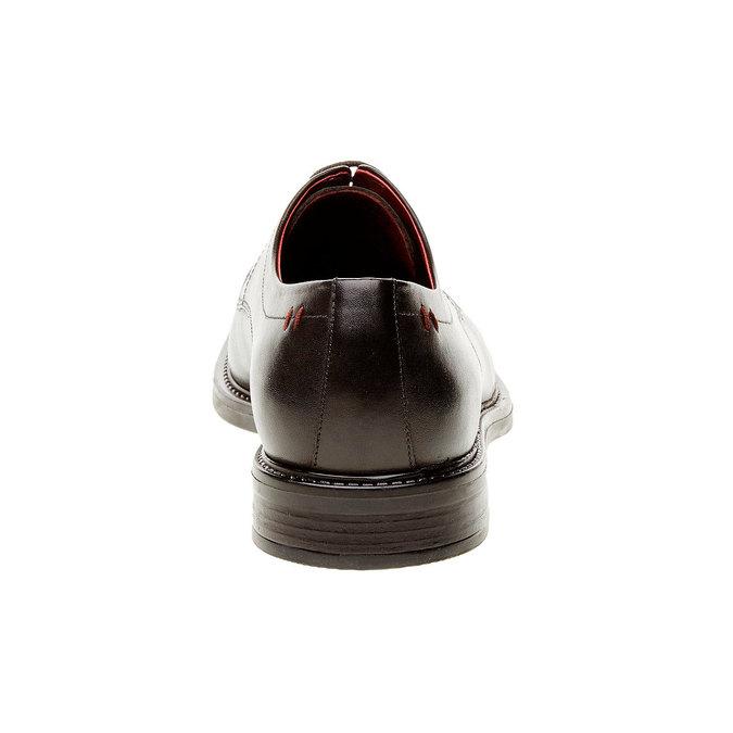 Kožené polobotky bata-comfit, černá, 824-6938 - 17