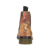 Kožené Chelsea Boots s květinovým vzorem bata, hnědá, 596-3620 - 17