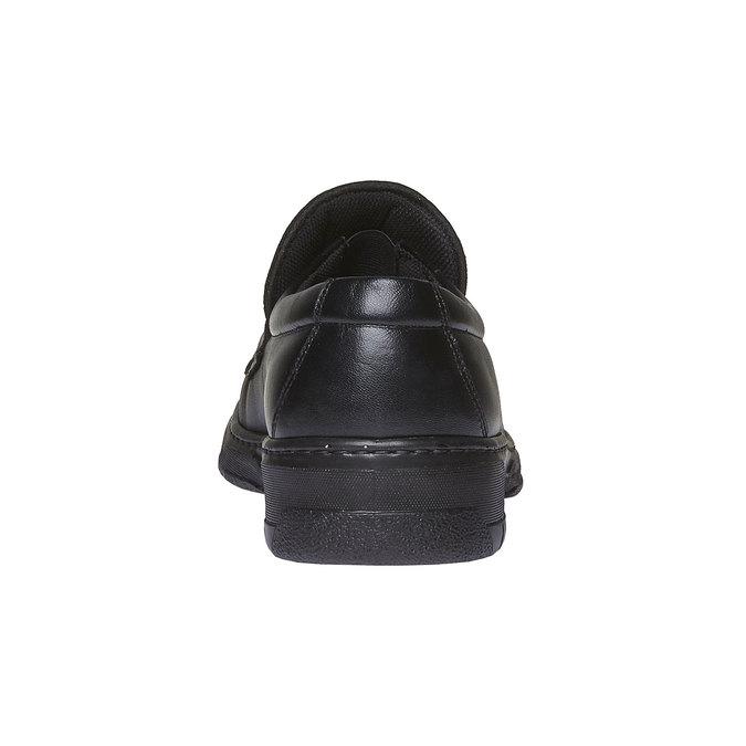 Kožená obuv pinosos, černá, 814-6119 - 17