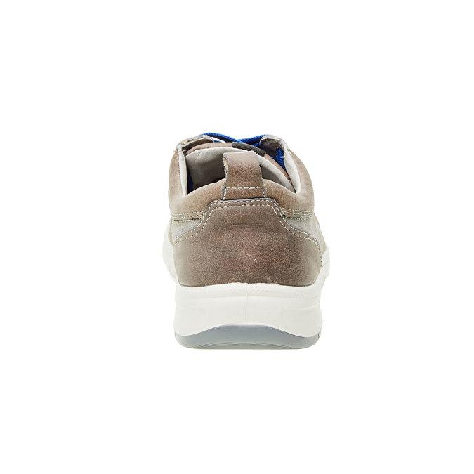 Pánská vycházková obuv, šedá, 843-2631 - 17