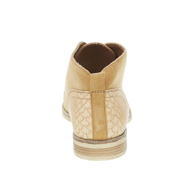Kotníčkové polobotky bata, hnědá, 591-4132 - 17