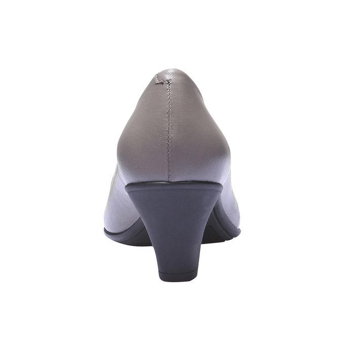 Lodičky se špičkou flexible, šedá, 624-8221 - 17