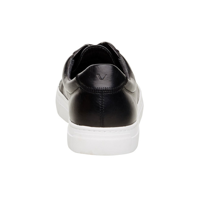 Pánské kožené tenisky vagabond, černá, 824-6256 - 17