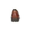Hnědé kožené polobotky fluchos, hnědá, 824-4629 - 17