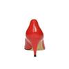 Dámské červené kožené lodičky bata, červená, 628-5630 - 17