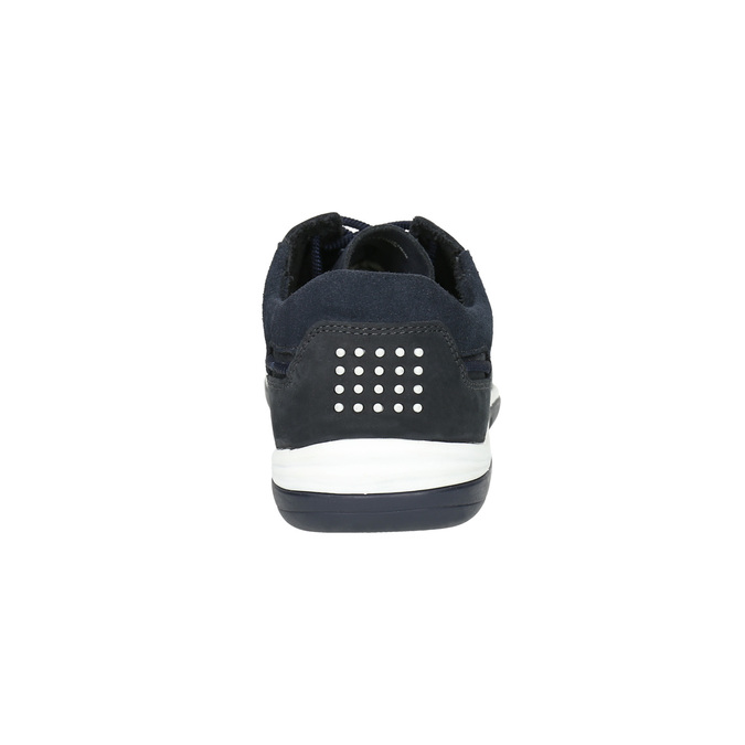 Kožené ležérní tenisky tbs-, černá, 833-9003 - 17