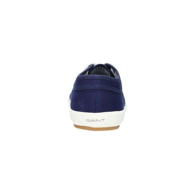 Ležérní pánské tenisky gant, modrá, 849-9020 - 17