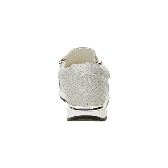 Tenisky v pleteném designu north-star, šedá, 531-2114 - 17