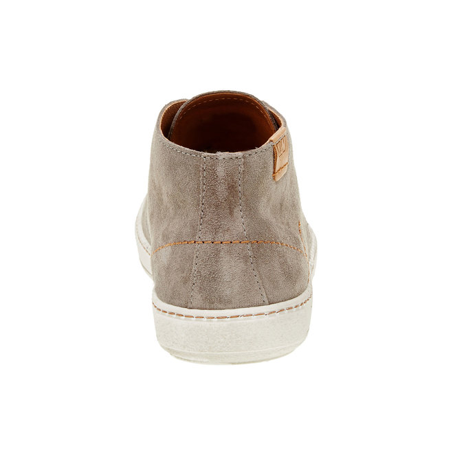 Pánská kožená obuv weinbrenner, hnědá, 843-2661 - 17