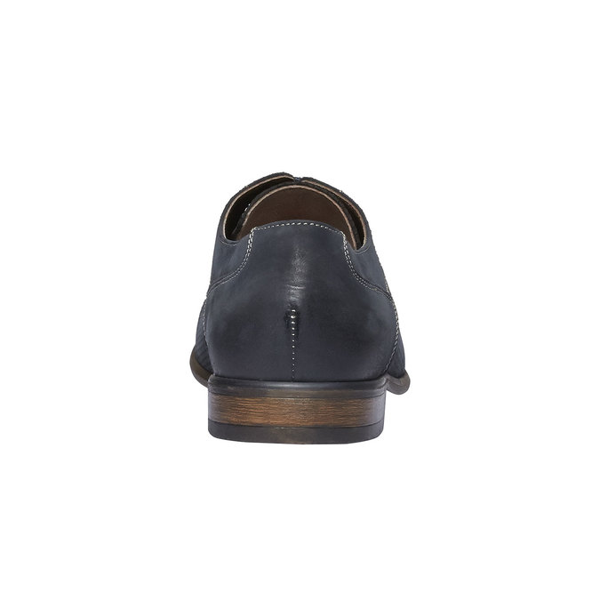 Ležérní kožené polobotky bata, černá, 826-6832 - 17