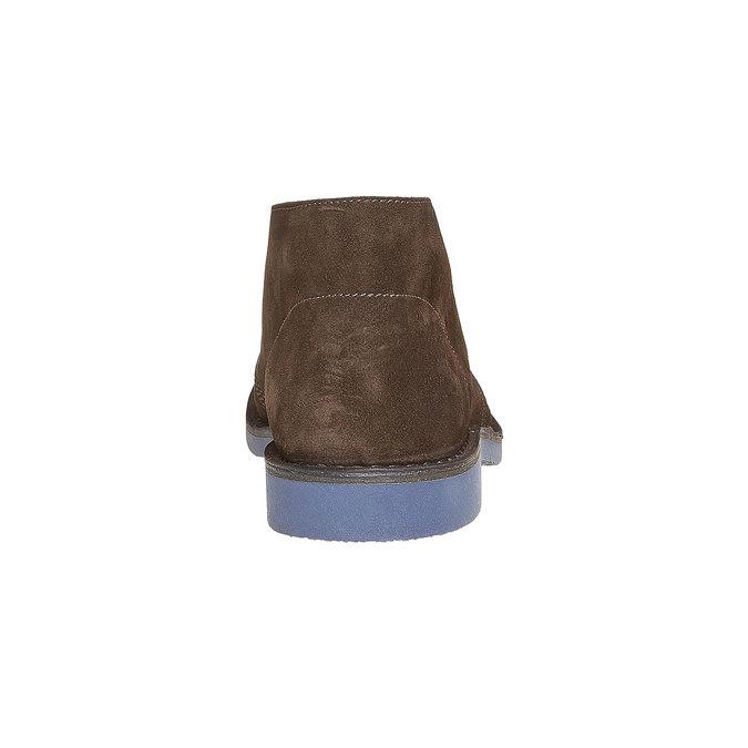 Kotníčková obuv ve stylu Chukka bata, hnědá, 893-4275 - 17
