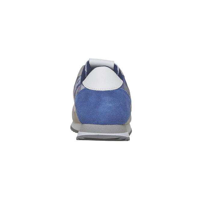 Pánské tenisky gas, šedá, bílá, modrá, 843-9591 - 17
