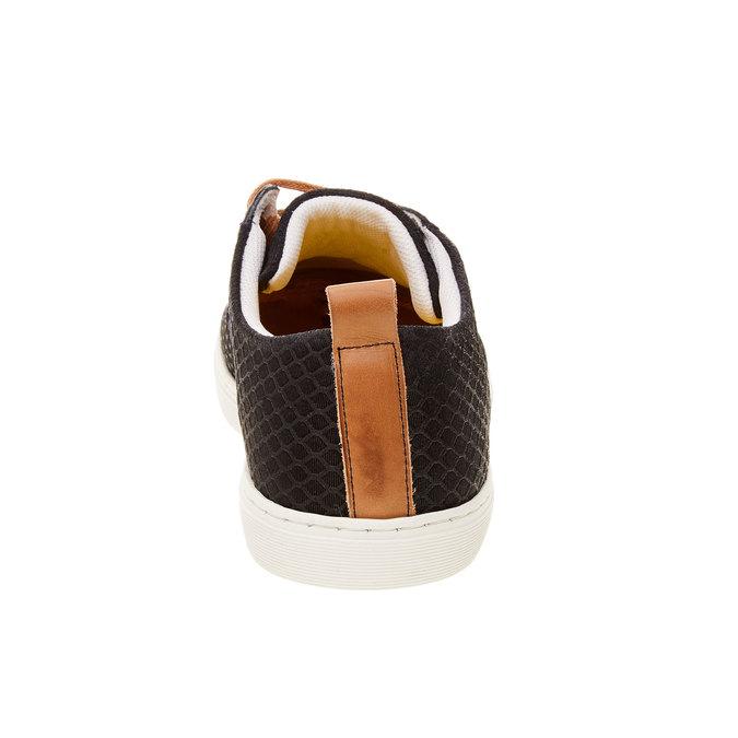 Ležérní kožené tenisky se strukturou bata, 843-9320 - 17