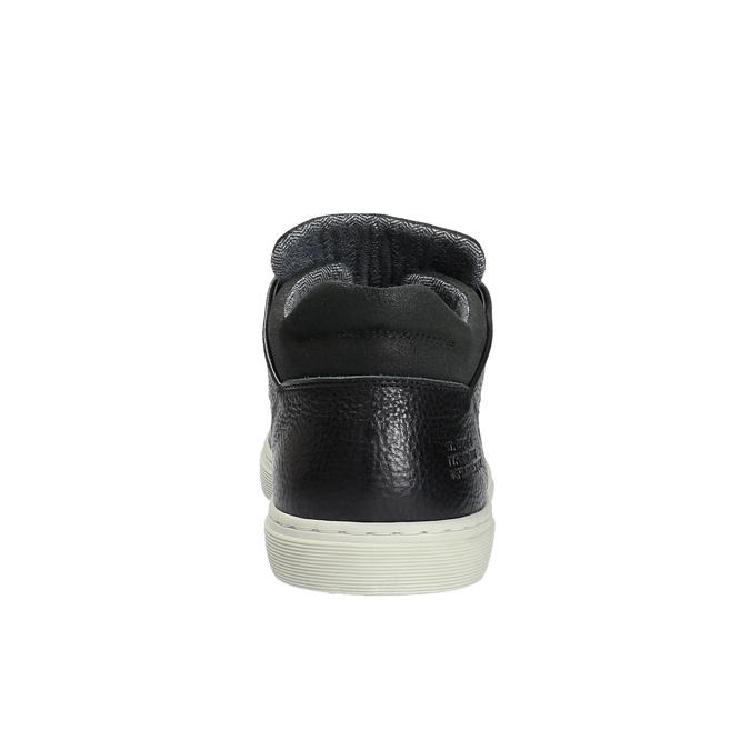 Pánské ležérní tenisky bata, černá, 844-6624 - 17