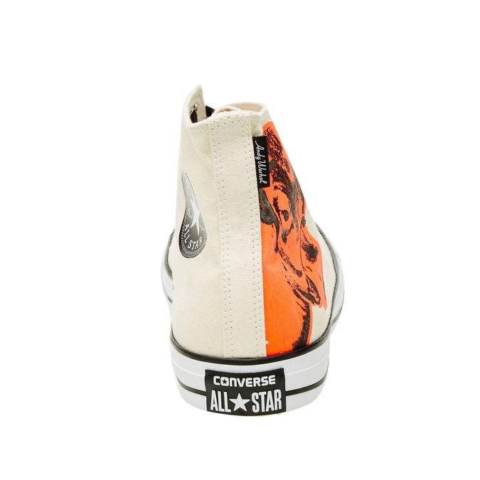 Pánské kotníčkové tenisky converse, béžová, 899-8001 - 17