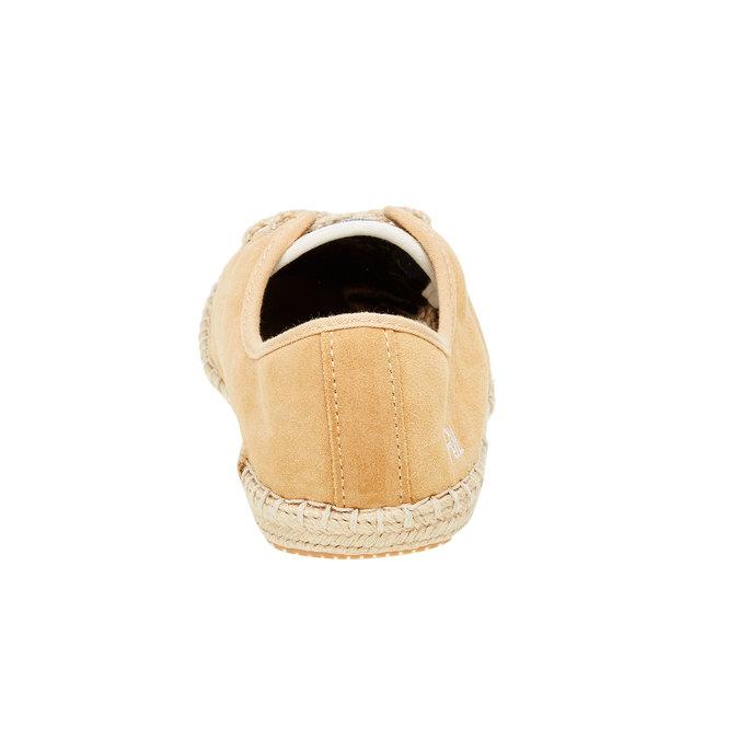 Pánské kožené tenisky pepe-jeans, hnědá, 823-3011 - 17