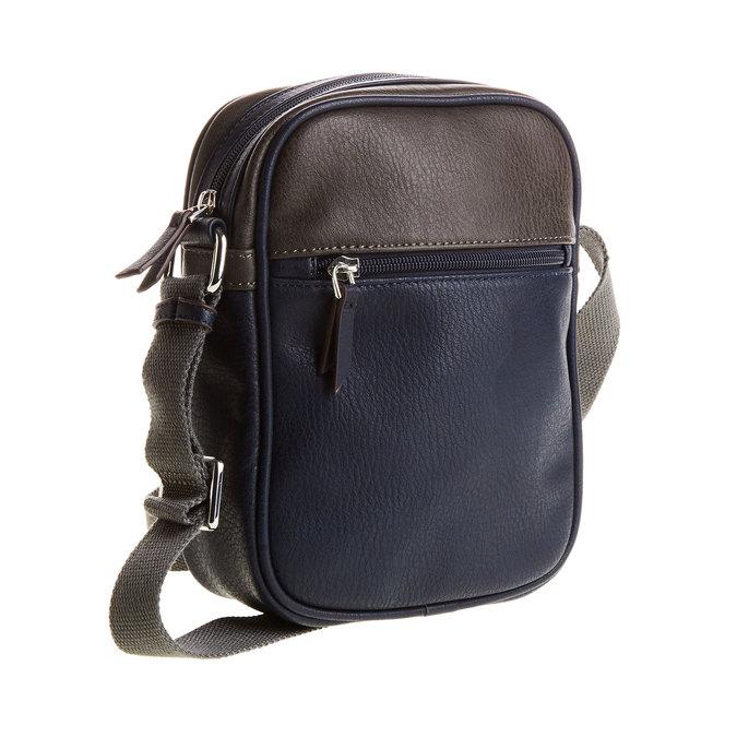 Pánská taška bata, modrá, 961-9772 - 13