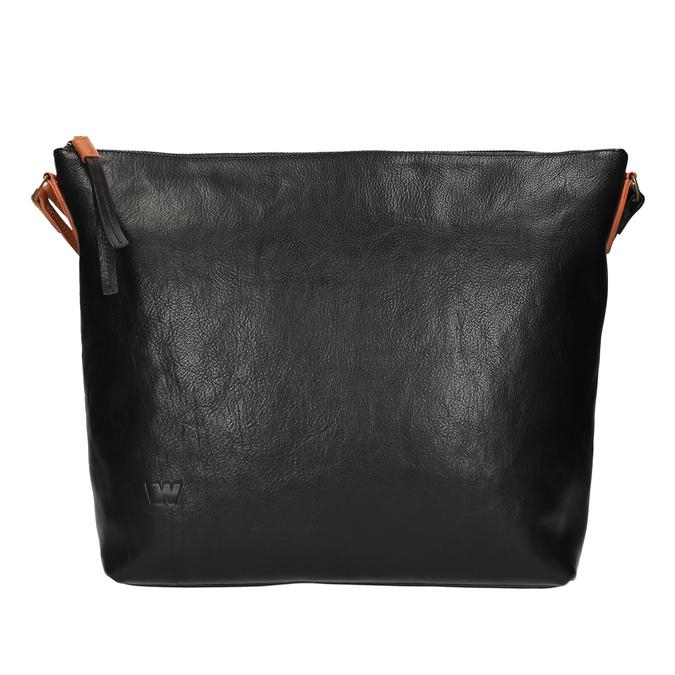 Kožená Crossbody kabelka weinbrenner, černá, 964-6201 - 26