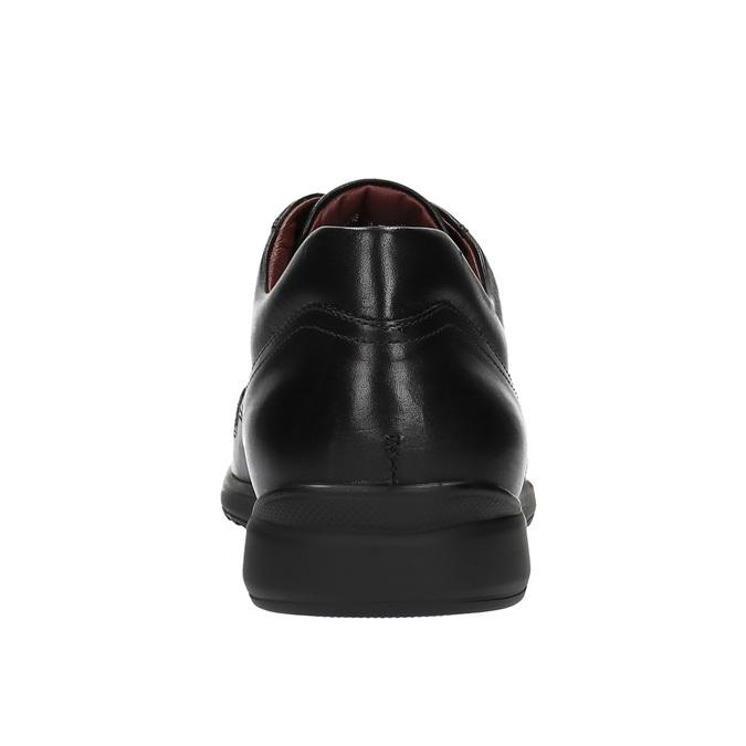 Ležérní kožené polobotky comfit, černá, 824-6767 - 17