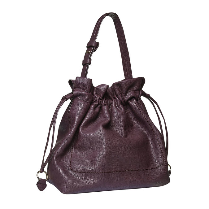 Womens Bucket Bag bata, fialová, 961-5369 - 13