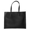 Hranatá kabelka v Shopper stylu bata, černá, 961-6736 - 26