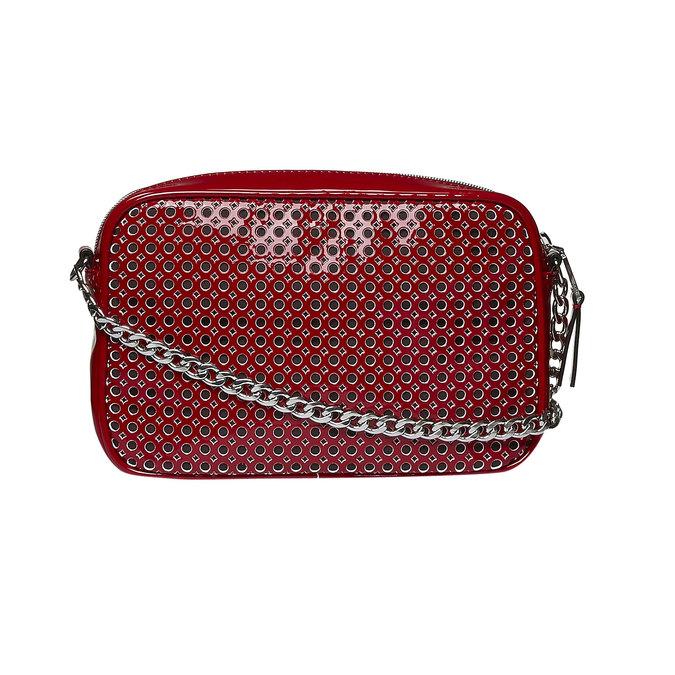 Crossbody kabelka s řetízkem bata, červená, 961-5797 - 26