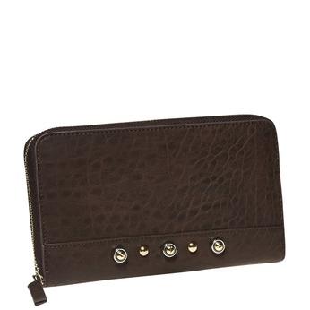 Dámská peněženka bata, hnědá, 941-4102 - 13