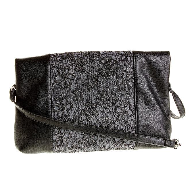 Crossbody kabelka se střapcem bata, černá, 969-6282 - 26