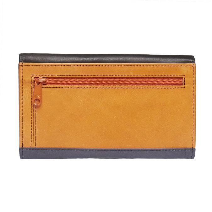 Dámská kožená peněženka bata, černá, 944-6156 - 26