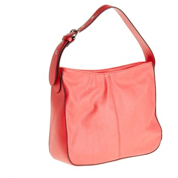 Červená kabelka s nastavitelným uchem bata, růžová, 961-5792 - 13