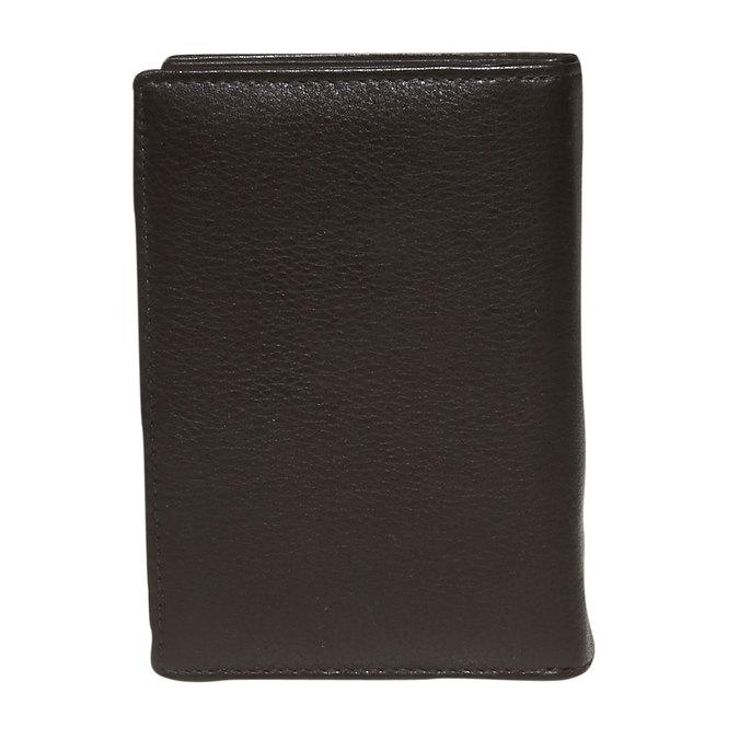 Dámská kožená peněženka bata, hnědá, 944-4117 - 26