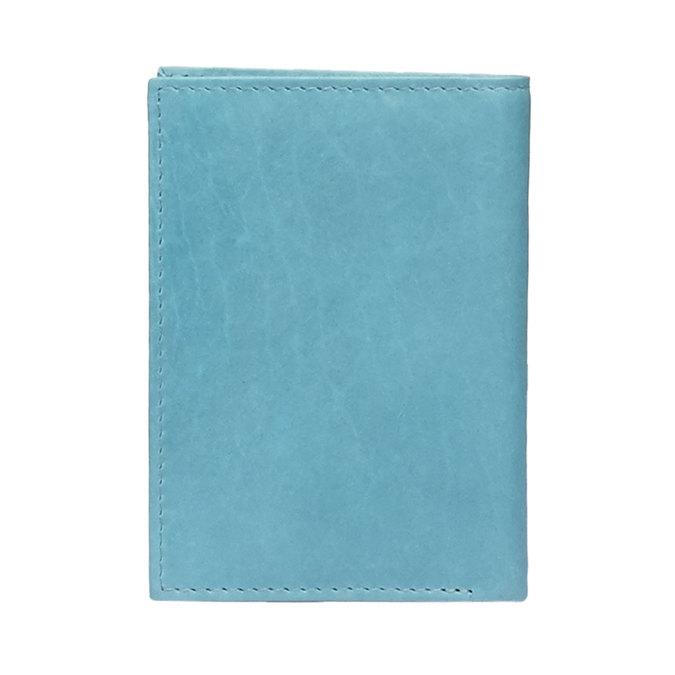 Kožené pouzdro na karty bata, modrá, 944-9158 - 26