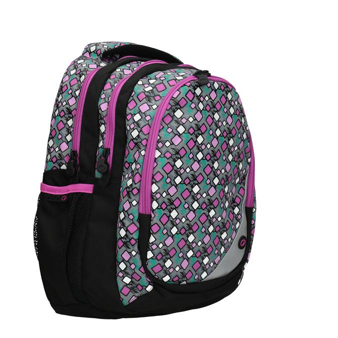 Dětský školní batoh bagmaster, růžová, 969-7603 - 13