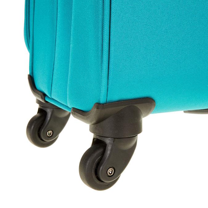 Cestovní kufr na kolečkách american-tourister, tyrkysová, 969-7108 - 19
