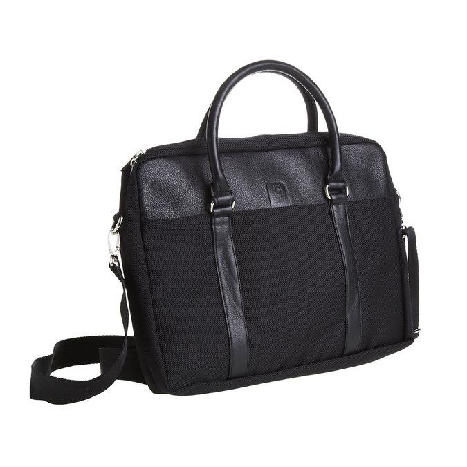 Taška na notebook bugatti-bags, černá, 969-6055 - 13