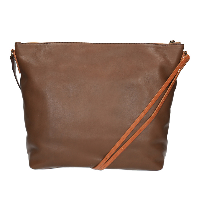 Kožená Crossbody kabelka weinbrenner, hnědá, 964-4201 - 19