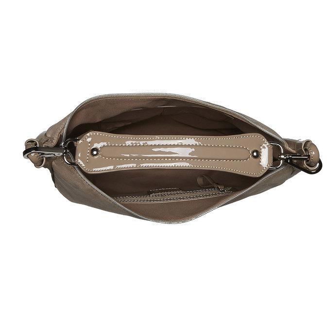 Kabelka na rameno bata, béžová, 969-8367 - 15