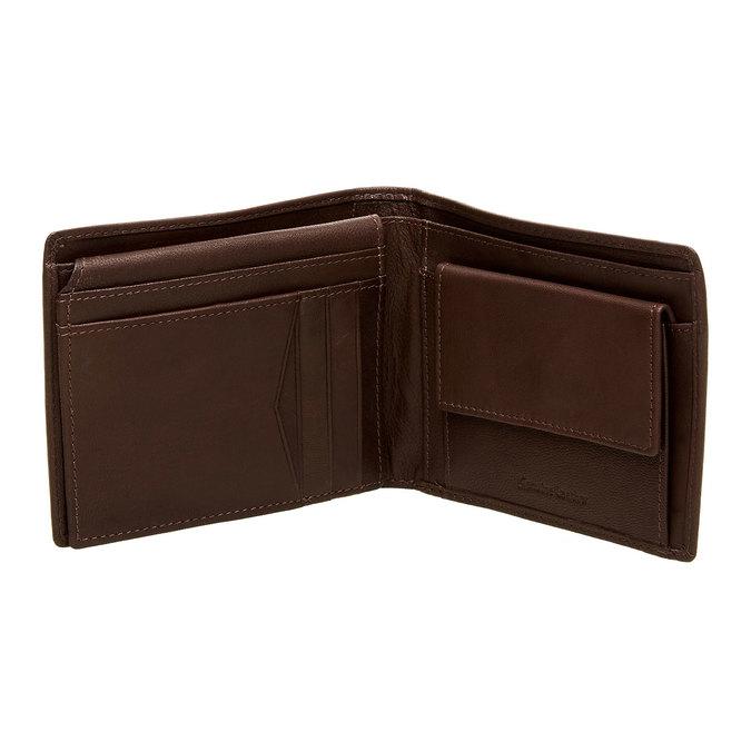 Pánská kožená peněženka bata, hnědá, 944-4124 - 15