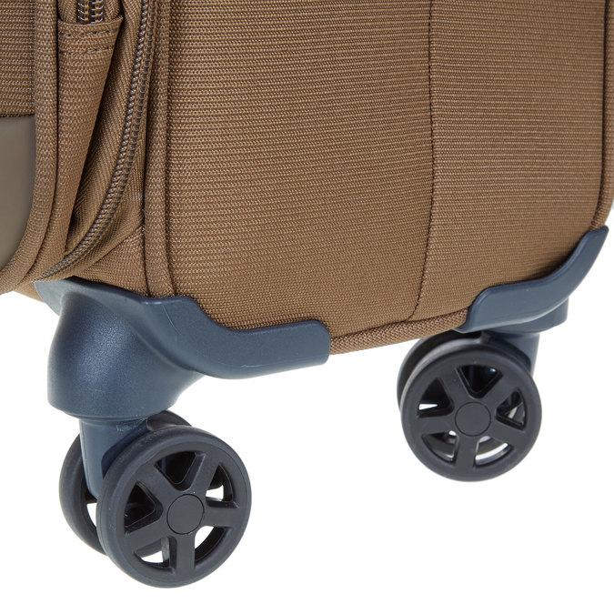 Textilní cestovní kufr na kolečkách samsonite, hnědá, 969-3342 - 19