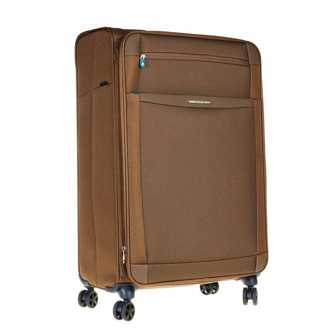 Textilní cestovní kufr na kolečkách samsonite, hnědá, 969-3343 - 13