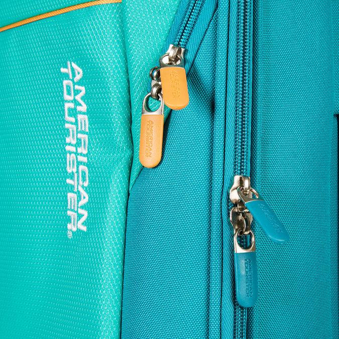 Cestovní kufr na kolečkách american-tourister, tyrkysová, 969-7108 - 17