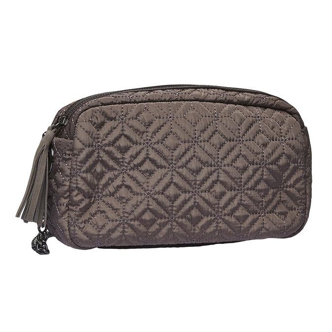 Textilní mini kabelka bata, žlutá, 969-8244 - 13