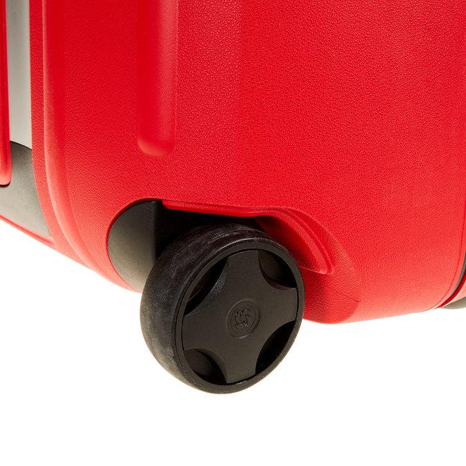Kvalitní skořepinový kufr samsonite, červená, 960-5323 - 19