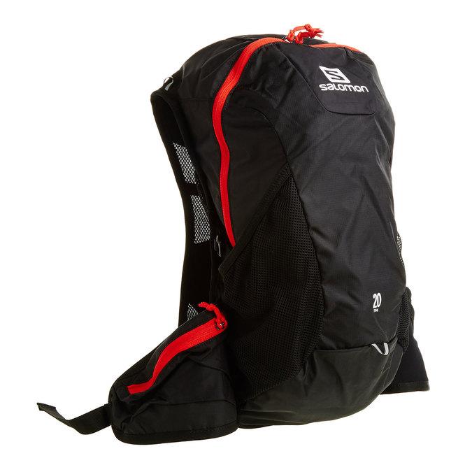Sportovní batoh černý salomon, černá, 969-6040 - 13
