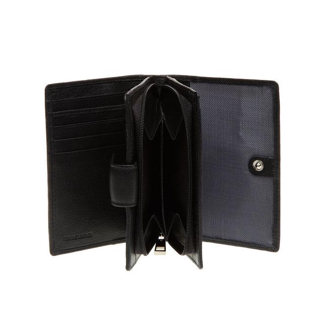 Kožená peněženka bata, černá, 944-6117 - 15