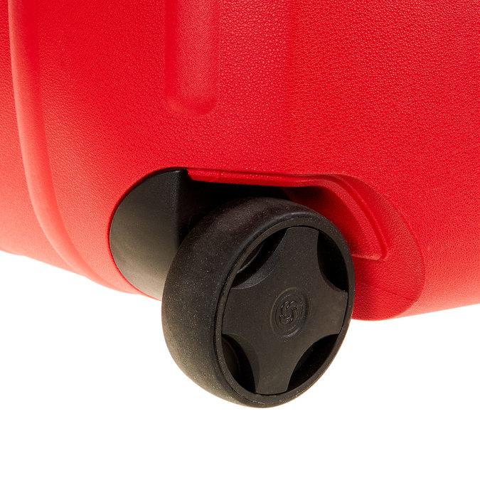 Skořepinový kufr na kolečkách samsonite, červená, 960-5324 - 19