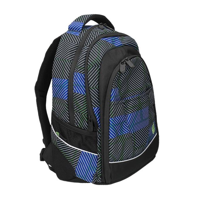 Školní batoh s potiskem bagmaster, modrá, 969-9614 - 13