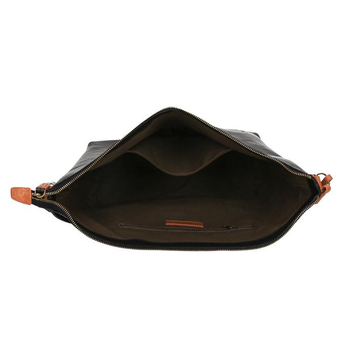 Kožená Crossbody kabelka weinbrenner, černá, 964-6201 - 15