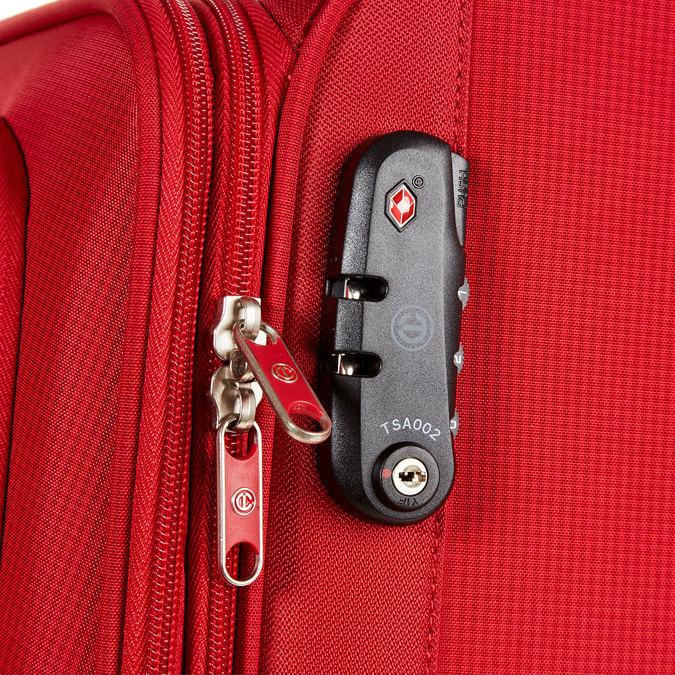 Kufr na kolečkách carlton, červená, 969-5145 - 17